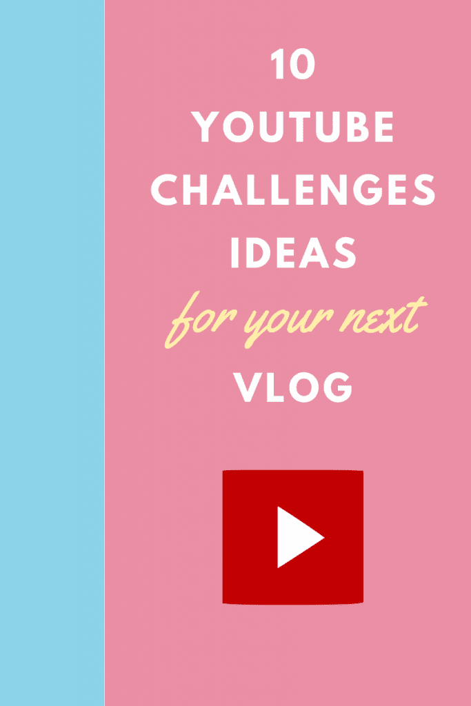 Youtube Challenges Ideas